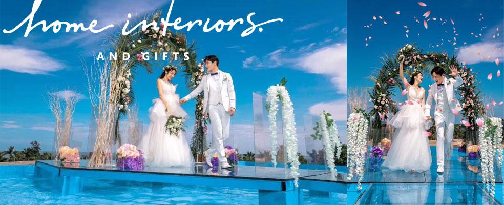 朋克水上婚礼